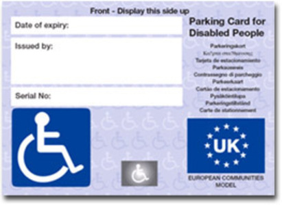 Blue Badge Scheme not fit for purpose