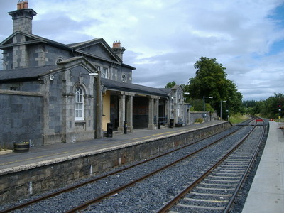 Dublin Port to Bagenalstown - 4 ways to travel via train, and