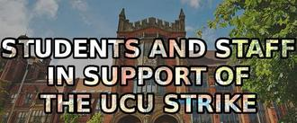 Supporting the UCU strike at Newcastle University
