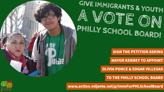 Give Immigrants and Youth a Vote on Philly School Board!