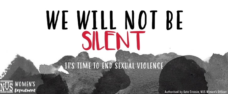 We Will Not Be Silent - End Sexual Violence