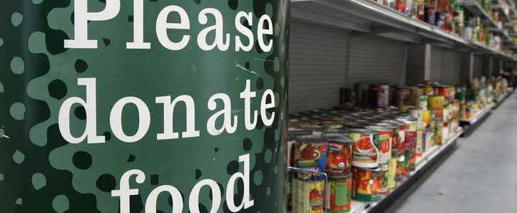 Online Supermarkets to have Food Bank Function