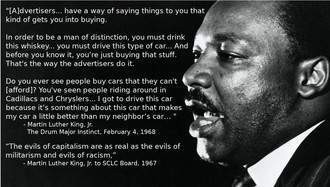 Stop Commercializing Dr. King's Legacy