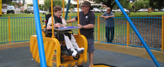 Update Dorchester Parks to accommodate Disabled children & young adults with additional needs