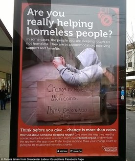 Scrap Public Space Protection Orders that target rough sleepers in Gloucester