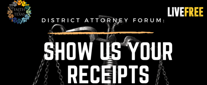 Tell DA Candidates: SHOW US YOUR RECEIPTS!!