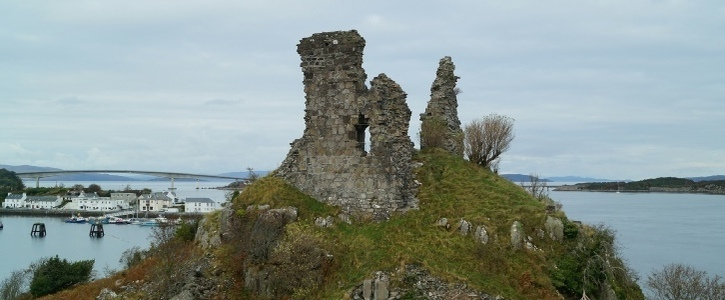 Urgent Conservation of CASTLE MOIL (CAISTEAL MAOL)