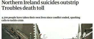 Increase resources and funding to mental health in Northern Ireland and tackle suicide rates