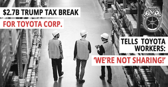 Toyota, Share your Tax Breaks