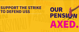 We support the UCU strike for pensions