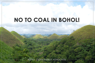 No to Coal in Bohol