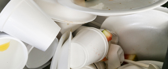 Ban Polystyrene Cups, Cutlery and Plates