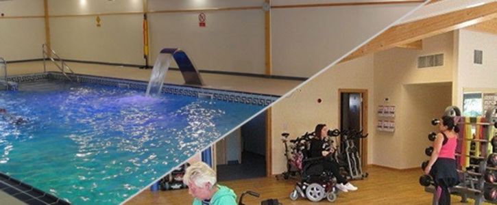 KEEP BLUEWAVE HYDROTHERAPY POOL AND GYM COMPLEX OPEN for the disabled