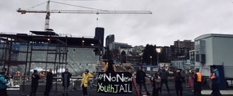 The People's Moratorium: Halt Construction on New Youth Jail and Courts!