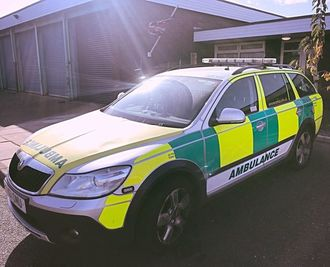 Save Ashbourne ambulance car