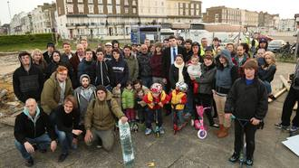 Save Little Oasis DIY Skatepark