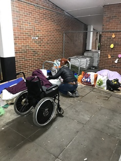 Night shelter provision