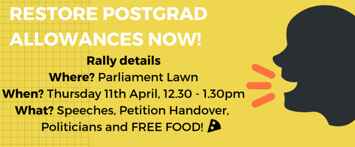 Restore the postgraduate student allowance now