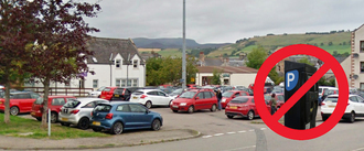 STOP car parking charges in Dingwall
