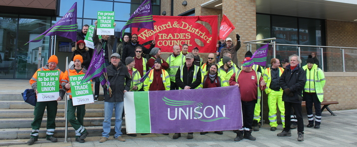 Support Dacorum Borough Council Workers