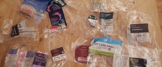 """End of """"FILM - PLASTIC Not currently recycled"""" labels"""