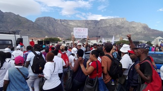 Tell the City of Cape Town that we reject the budget and privatization of water