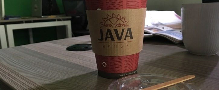 NAIROBI, KE: JAVA HOUSE STOP USING SINGLE-USE PLASTIC