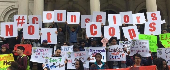 Black & Brown Youth Demand Racial Justice in School Safety Debate
