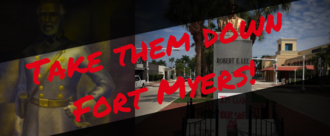 Remove Confederate Imagery from Fort Myers Public Spaces
