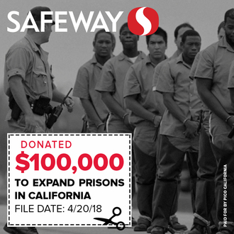 Tell Corporations to Stop Funding Prison Expansion in California