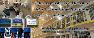Bring Back Good Time in Michigan's Prisons (HB 5666)