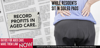 For-profit aged care providers are putting profits before their responsibility to care