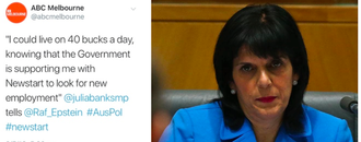 Julia Banks: Spend one week on Newstart or resign!