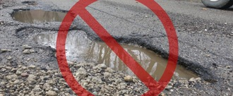INVEST IN HUCKNALL POTHOLES