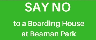 No to boarding house