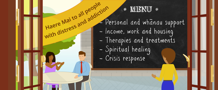 Open access to a full menu of services: Public submission to the Mental Health Inquiry