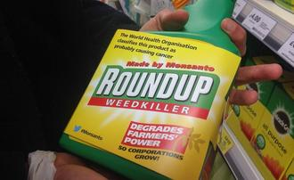Label bread containing Glyphosate