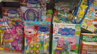Stop excessive use of plastic toys on magazines for children