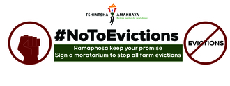 Stop all farm evictions
