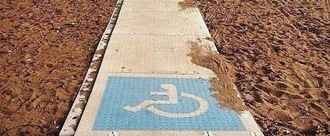 Disabled friendly beaches U.K.