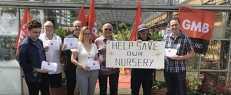 STOP THE CLOSURE OF DRUMPELLIER PLANT NURSERY!