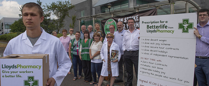 Call On LloydsPharmacy to Accept Labour Court Recommendation