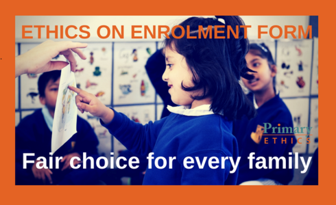Fair choice for families on religion and ethics
