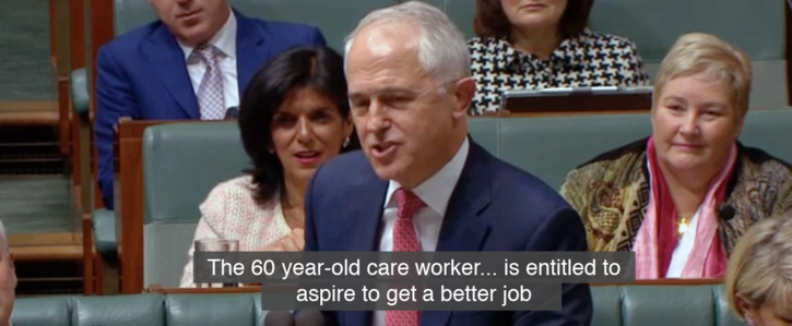 Tell the PM to apologise to care workers!