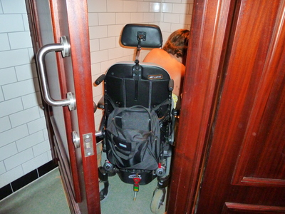 Wetherspoons Royal Pavilion fails on disabled toilet facilities