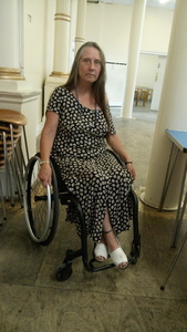 Aggressive brain tumour treatment frequently delayed for disabled people.