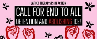 Latinx therapist in action logo