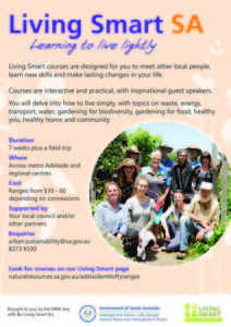 Please bring the 'Living Smart' Course to the Barossa!