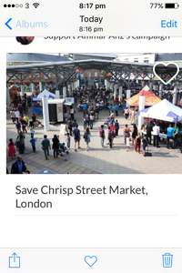 Save Chrisps street market