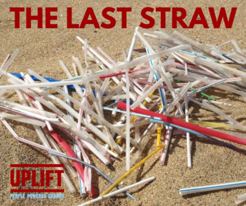 Stop the use of non degradable plastic straws: Arc Cinema Drogheda